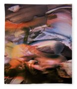 Autumn Fades Fleece Blanket