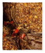 Autumn Fall  Dream Fleece Blanket