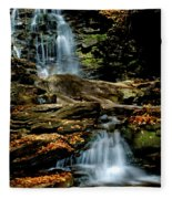 Autumn Falls - 2885 Fleece Blanket