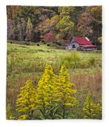 Autumn Fields Fleece Blanket