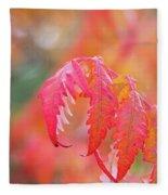 Autumn Fires Fleece Blanket