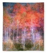 Autumn Forest Fleece Blanket
