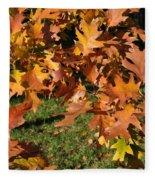 Autumn Fragrance Fleece Blanket