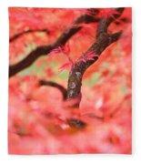 Autumn From Within Fleece Blanket