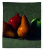 Autumn Fruit Fleece Blanket
