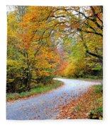 Autumn Glory Fleece Blanket