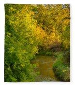 Autumn Glow Fleece Blanket