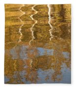 Autumn Gold Fleece Blanket