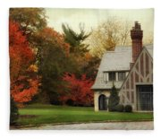 Autumn Grandeur Fleece Blanket