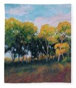 Autumn Grove Fleece Blanket