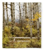 Autumn Grove Fleece Blanket