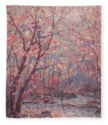 Autumn Harmony. Fleece Blanket