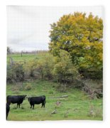 Autumn Herd Fleece Blanket