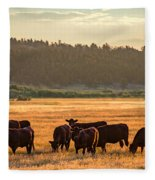 Autumn Herd Fleece Blanket