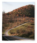 Autumn Hill Near Hancock Maryland Fleece Blanket