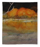 Autumn Hills Fleece Blanket