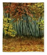 Autumn Hollow Fleece Blanket