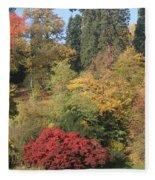 Autumn In Baden Baden Fleece Blanket