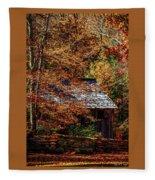 Autumn In Cades Cove Smnp Fleece Blanket