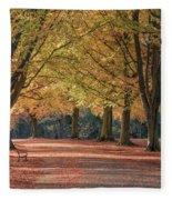 Autumn In Clifton, Bristol Fleece Blanket