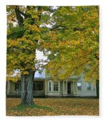 Autumn In Franklin Fleece Blanket