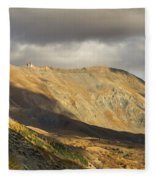 Autumn In French Alps - 5 Fleece Blanket