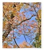 Autumn In Full Swing Fleece Blanket