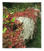 Autumn In Hampstead Fleece Blanket
