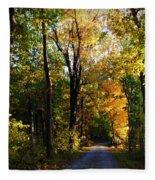Autumn In Missouri Fleece Blanket
