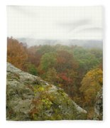 Autumn In Shawnee Fleece Blanket
