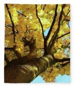 Autumn Is My Favourite Colour Fleece Blanket