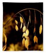 Autumn Jewelery Fleece Blanket