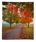 Autumn Journey Fleece Blanket