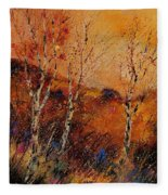 Autumn Landscape 45 Fleece Blanket