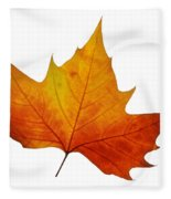 Autumn Leaf 1 Fleece Blanket