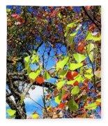 Autumn Leaves 243 L Fleece Blanket