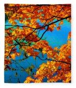 Autumn Leaves 7 Fleece Blanket