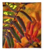 Autumn Leaves - Patagonia Fleece Blanket