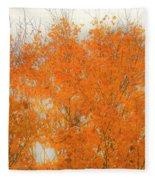 Autumn Leaves2 Fleece Blanket