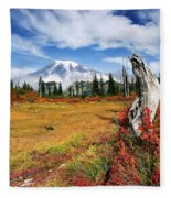 Autumn Majesty Fleece Blanket