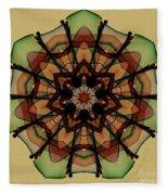 Autumn Mandala Fleece Blanket