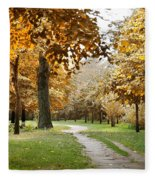 Autumn Fleece Blanket