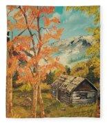 Autumn Memories Fleece Blanket