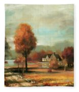 Autumn Memories Fleece Blanket