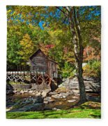 Autumn Mill 2 Fleece Blanket