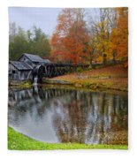Autumn Mill Fleece Blanket