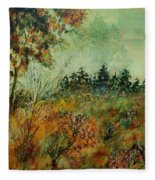 Autumn Mist 68 Fleece Blanket