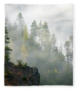 Autumn Mist Fleece Blanket