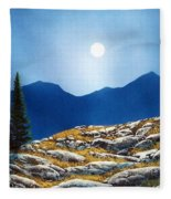 Autumn Moon Fleece Blanket