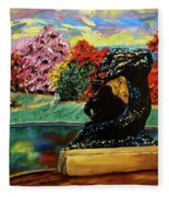 Autumn Music Fleece Blanket